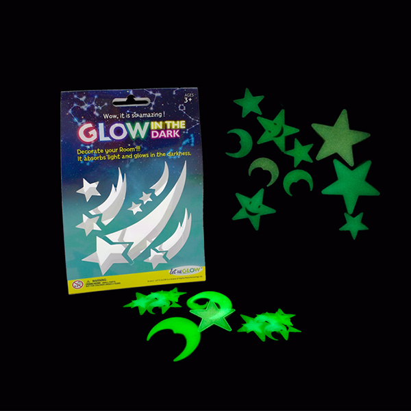 Smiling face-glow star toys