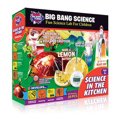SCIENCE IN THE KITCHEN-kitchen science toys set