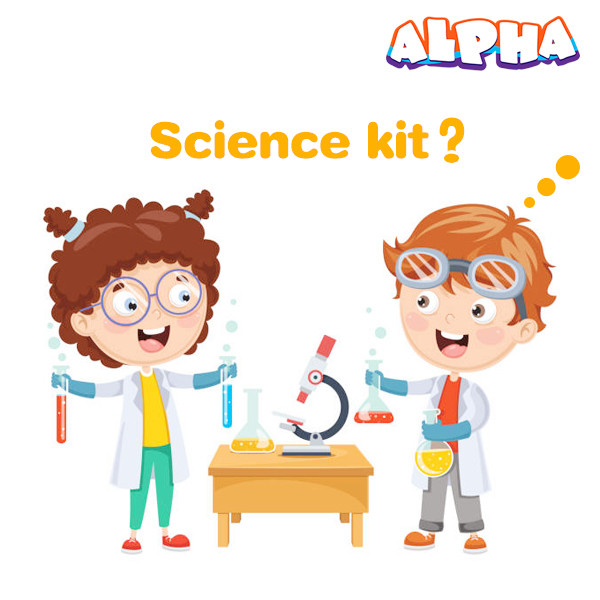 Alpha science classroom: How does a good children's science kit to help children
