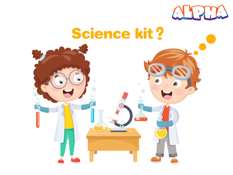 Alpha science toys-science kit
