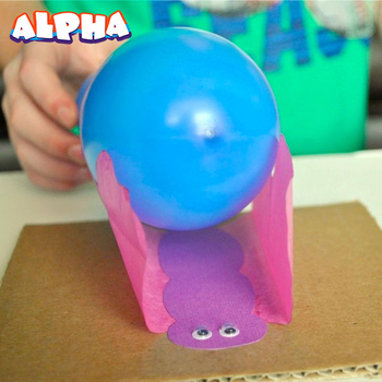 Alpha science classroom:Children's Electrostatic butterfly science experiment