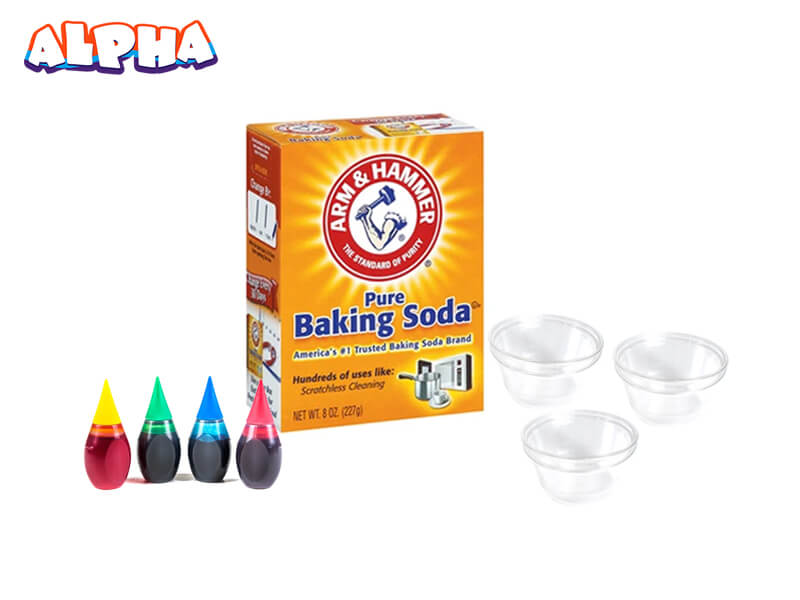 Alpha science classroom: exploding rainbow materials -children's science experiment