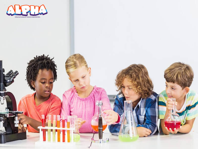 Alpha science classroom:science toys