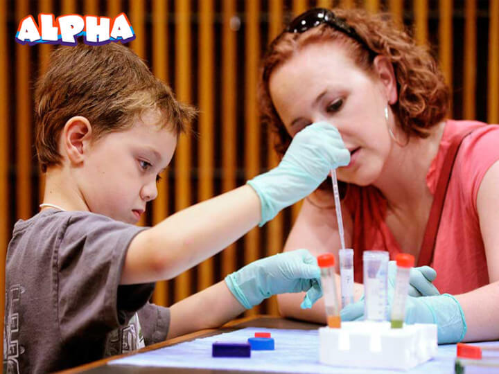 Alpha science classroom-Educational science toys for children