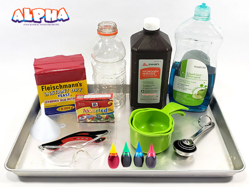 Alpha science classroom-science experiments for kids