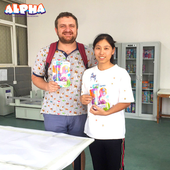 Alpha science toys:Training future stars with Russian partners