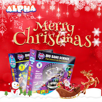 Alpha science toys: Merry Christmas to Children around the world